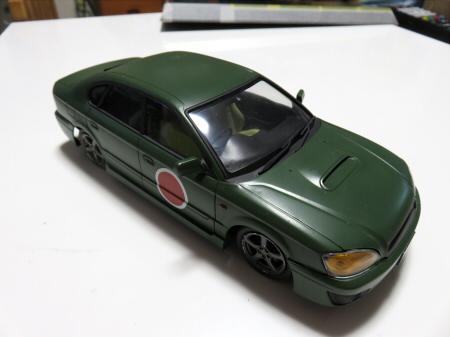 1/24 レガシィ B4 RSK/RS30