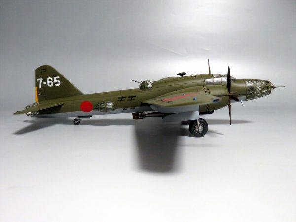1/72 四式重爆撃機 飛龍
