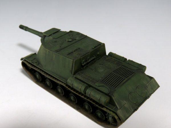 1/100 ソビエト自走砲 ISU-152