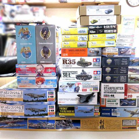 【入荷案内】マークI 1/144 Me262B 「夜間戦闘機」(2 in 1) 他サムネイル