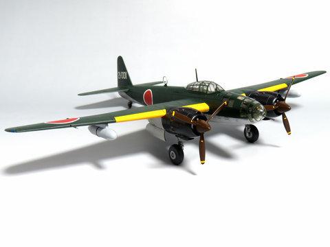 """1/72 陸上爆撃機 銀河 11型 """"第521航空隊""""サムネイル"""