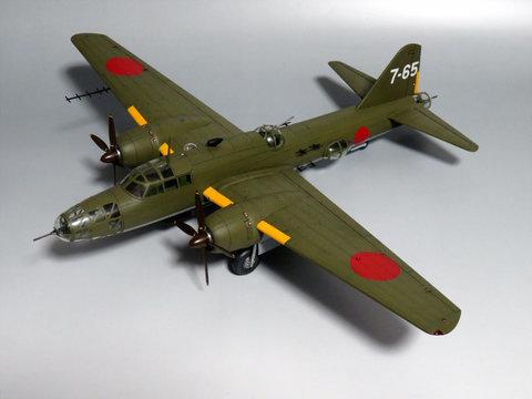 1/72 四式重爆撃機 飛龍サムネイル