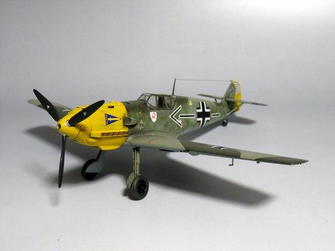 1/48 メッサーシュミット Bf109E-4サムネイル