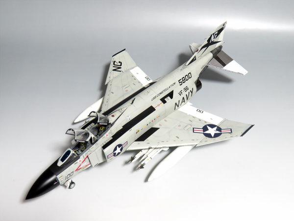 【制作代行】造形村 1/48 F-4J ファントムII 完成サムネイル