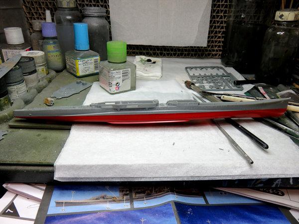 【制作代行】フジミ 1/700 重巡洋艦 羽黒 #3サムネイル