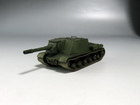 1/100 ソビエト自走砲 ISU-152サムネイル