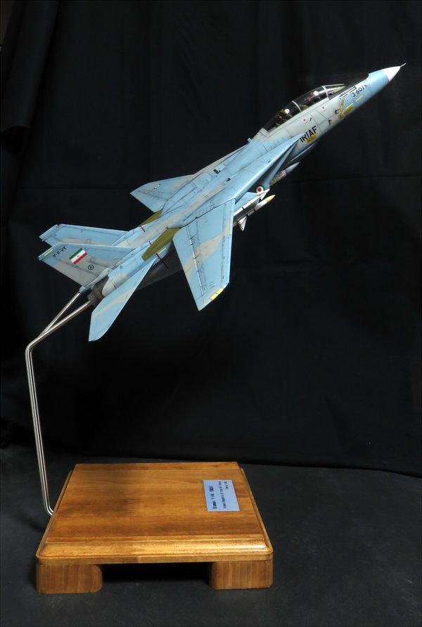 【制作代行】タミヤ 1/48 F-14A トムキャット 完成サムネイル