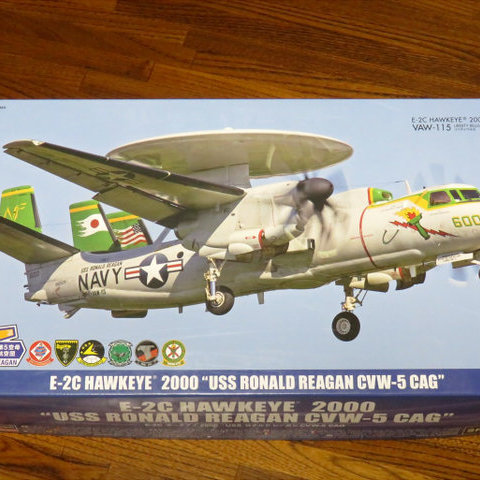 【制作代行】ハセガワ 1/72 E-2C CVW-5 ロナルド・レーガン #1サムネイル