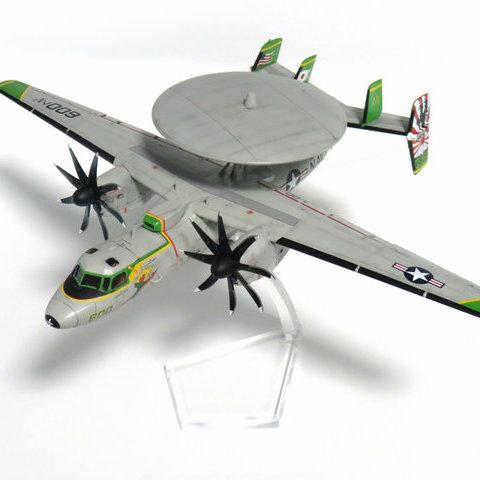 【制作代行】ハセガワ 1/72 E-2C CVW-5 ロナルド・レーガン 完成サムネイル