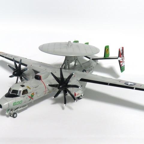 【制作代行】ハセガワ 1/72 E-2C ホークアイ2000 `VAW-115 さよなら厚木 2017`サムネイル