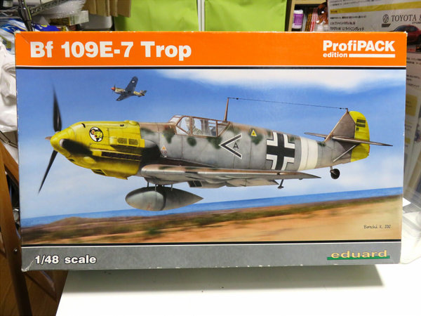 【制作代行】エデュアルド 1/48 Bf 109E-7 Trop 制作過程サムネイル