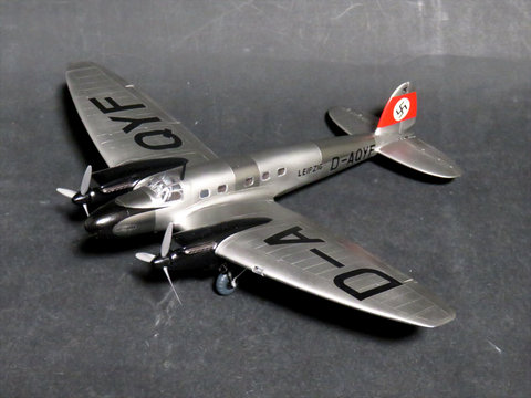 1/72 ハインケル He 111C 旅客機型大戦間サムネイル