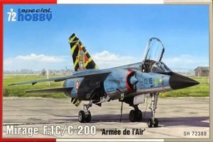 1/72 ダッソー・ミラージュ F.1C/C-200戦闘機 フランス空軍