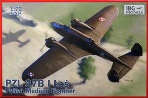 1/72 ポーランド 双発爆撃機 PZL.37B ロシュLos