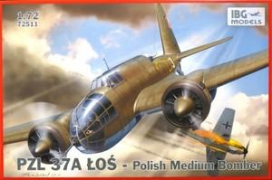 1/72 ポーランド 双発爆撃機 PZL.37A ロシュLos