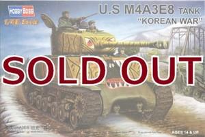 1/48 M4A3E8 シャーマン 朝鮮戦争