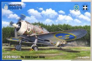 1/48 J-20/ヘーヤI・レジアーネ Re2000ファルコ 輸出型