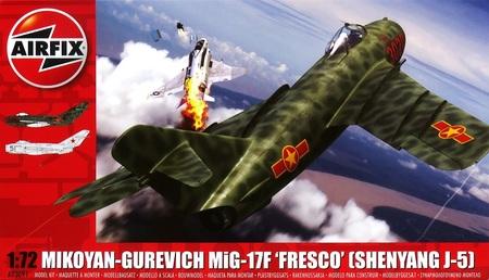 1/72 MiG-17F フレスコ (シェンヤン J-5)