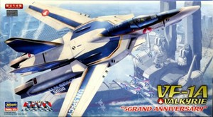 "1/72 VF-1A バルキリー ""生産5000機記念塗装機"""