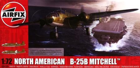 1/72 ノースアメリカン B-25B ミッチェル `ドーリットル空襲`