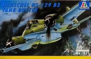 1/72 ドイツ攻撃機 ヘンシェル Hs-129B-3