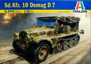 1/35 ドイツ1トンハーフトラック sd.kfz.10 デマークD7