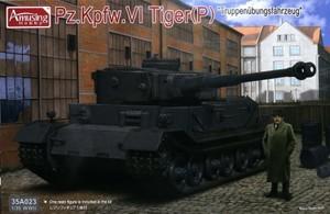 1/35 ドイツ重戦車 ティーガー(P)