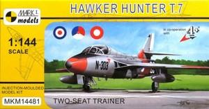 1/144 ホーカーハンターT.7 「複座練習機」