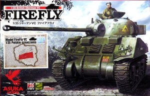1/35 シャーマンVC ファイアフライ ポーランド軍デカール特別付録版