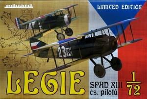 1/72 スパッドXⅢ 「チェコスロバキア人パイロット」 リミテッドエディション