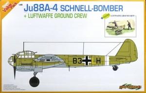 1/48 WWII ドイツ空軍 Ju88A-4 シュネルボマー w/グランドクルーセット