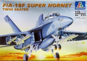 1/72 F/A-18F スーパーホーネット複座型