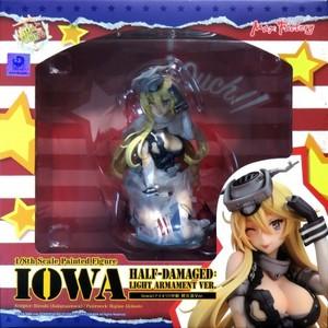 1/8 Iowa(アイオワ)中破 軽兵装Ver.