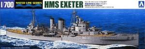 1/700 英国海軍重巡洋艦 エクセター