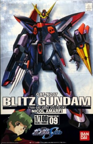 1/100 GAT-X207 ブリッツガンダム
