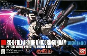 HGUC RX-0 フルアーマー・ユニコーンガンダム(ユニコーンモード)