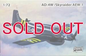 1/72 AD-4W/AEW.1 スカイレーダー