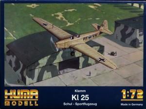 1/72 Klemm KL 25 Schul - sportflugzeug