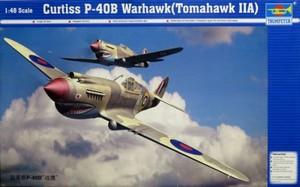1/48 カーチス P-40B ウォーホーク トマホークIIA