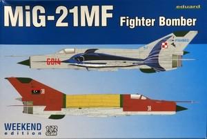 1/72 MiG-21MF 戦闘攻撃機 ウィークエンドエディション