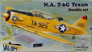 1/144 ノースアメリカン T-6G テキサン Texan (double set)