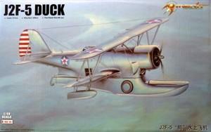 """1/48 U.S ネイビー J2F-5 """"ダック"""""""
