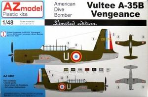 1/48 ヴァルティ A-35B ヴェンジャンス France,2x USAF