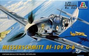 1/72 メッサーシュミット Bf109G-6