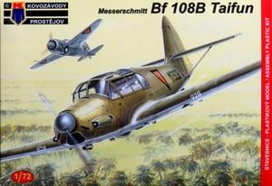 1/72 メッサーシュミット Bf108B/K-70 「海外仕様」
