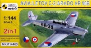 1/144 アビアC-2/Ar96B「シルバーカラー」(2キット入り)