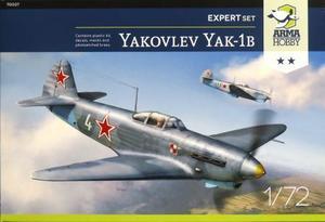 1/72 ヤコヴレフ Yak-1b 「エキスパートセット」