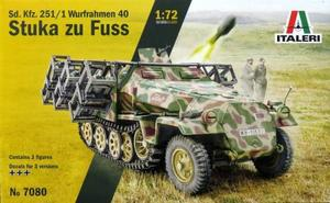 1/72 WW.II ドイツ軍 Sd.Kfz.251/1 ヴルフラーメン40装備型