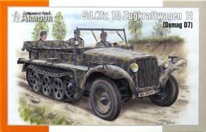 1/72 Sd.Kfz 10 デマーグ D7 1tハーフトラック