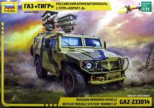 "1/35 GAZ ""ティーグル"" コルネットD"